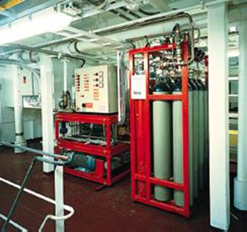 Fire Suppression System with Fine Water Spray. Water mist systems were originally introduced in the 1940s and were utilized for specific applications such as