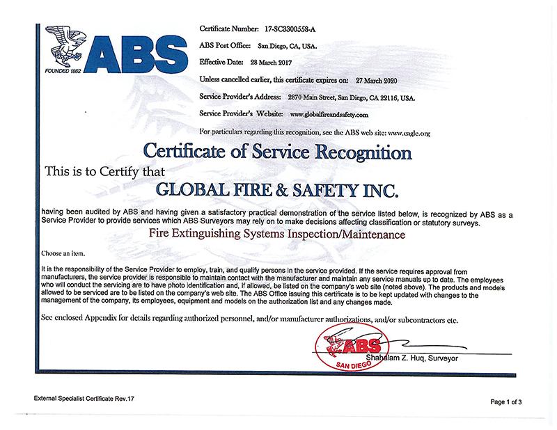 ABS San Diego FIRE